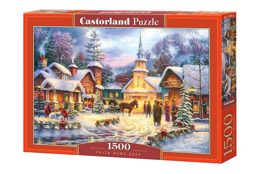 Castorland legpuzzel Faith Runs Deep 1500 stukjes
