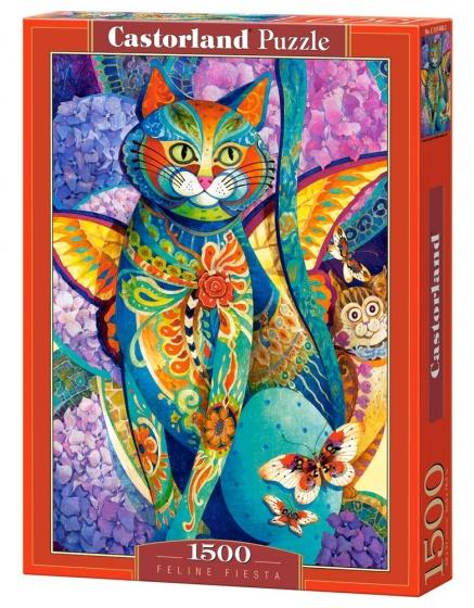 Castorland legpuzzel Feline Fiesta 1500 stukjes