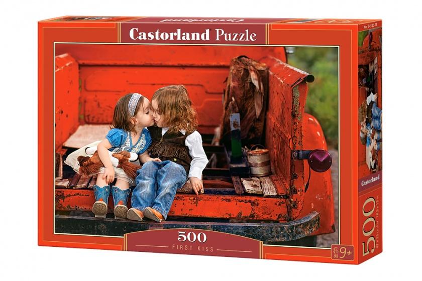 Castorland legpuzzel first kiss 500 stukjes 177967