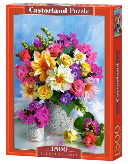 Castorland legpuzzel Flower Bouquet 1500 stukjes
