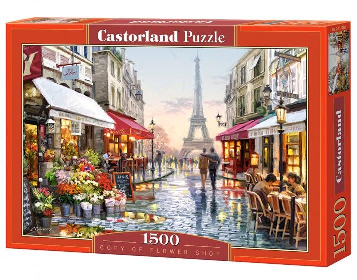 Castorland legpuzzel Flower Shop 1500 stukjes