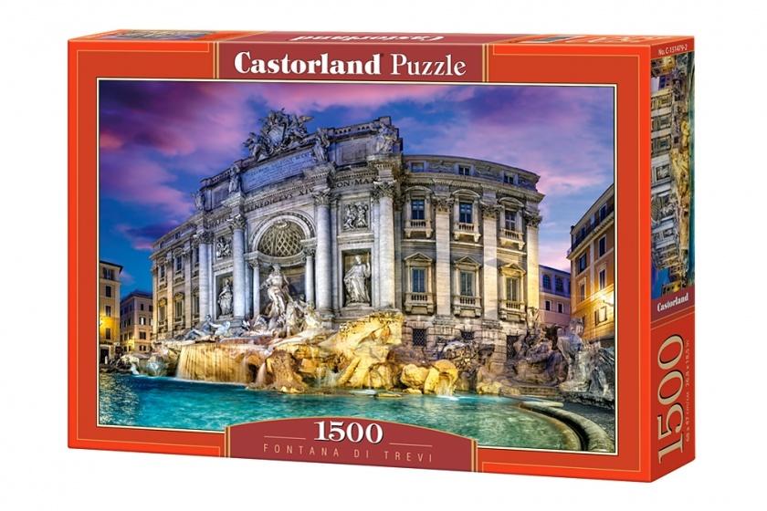 Castorland legpuzzel Fontanna di Trevi 1500 stukjes