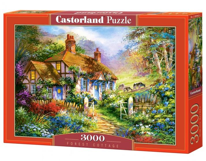 Castorland legpuzzel Forrest Cottage 3000 stukjes