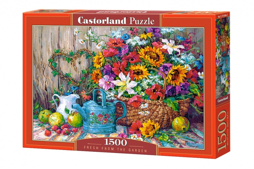 Castorland legpuzzel Fresh from the Garden 1500 stukjes
