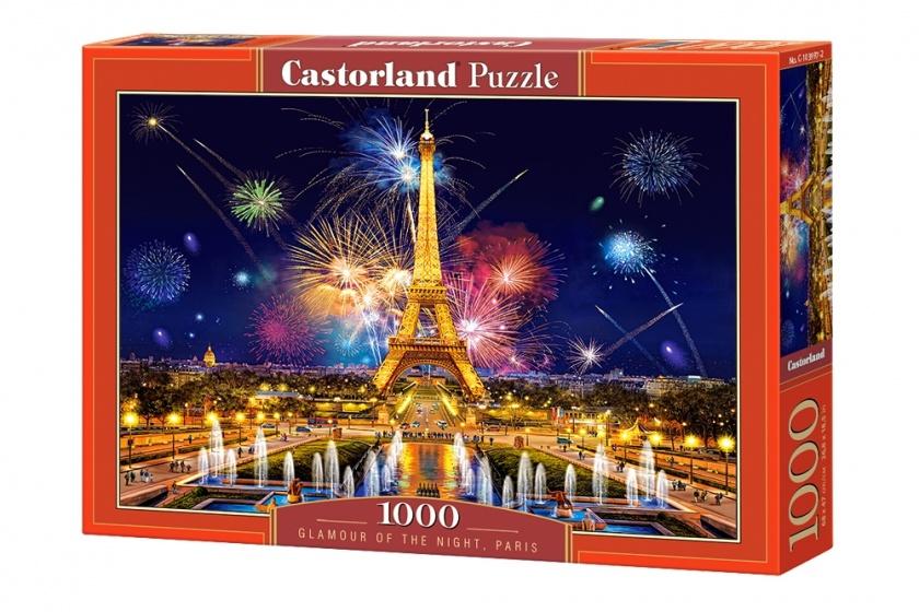 Castorland legpuzzel Glamour of the Night, Paris 1000 stukjes