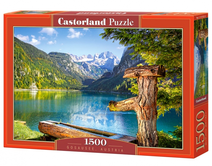 Castorland legpuzzel Gosausee, Austia 1500 stukjes