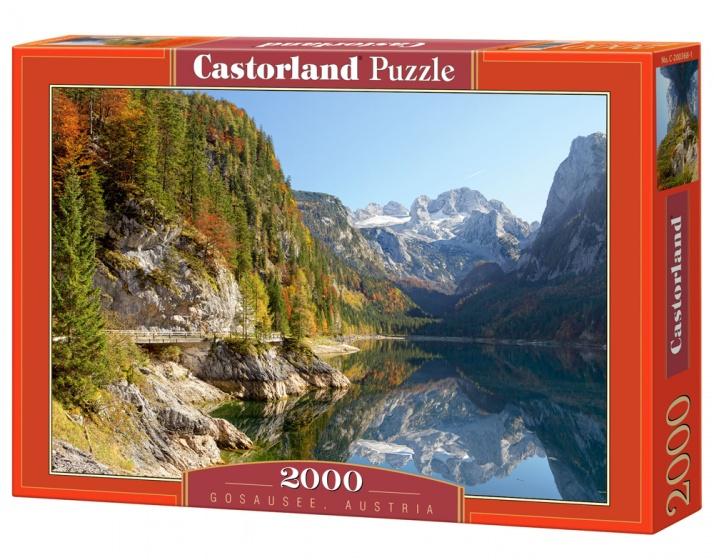 Castorland legpuzzel Gosausee, Austria 2000 stukjes