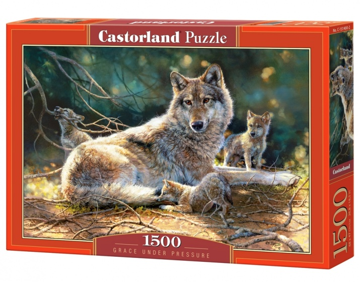 Castorland legpuzzel Grace under Pressure 1500 stukjes