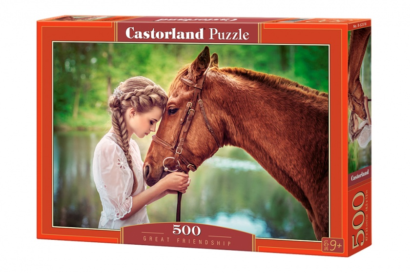 Castorland legpuzzel Great friendship 500 stukjes