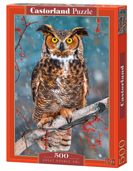 Castorland legpuzzel Great Horned Owl 500 stukjes