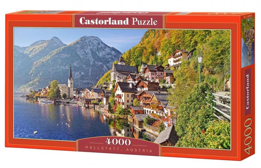 castorland jigsaw puzzle hallstatt austria 4000 pieces internet toys. Black Bedroom Furniture Sets. Home Design Ideas