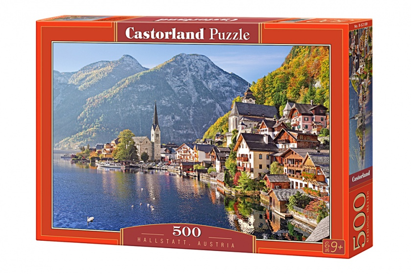 Castorland legpuzzel hallstatt austria 500 stukjes 177912