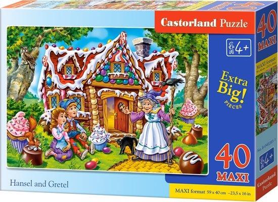 Castorland legpuzzel Hansel and Gretel 40 maxi stukjes
