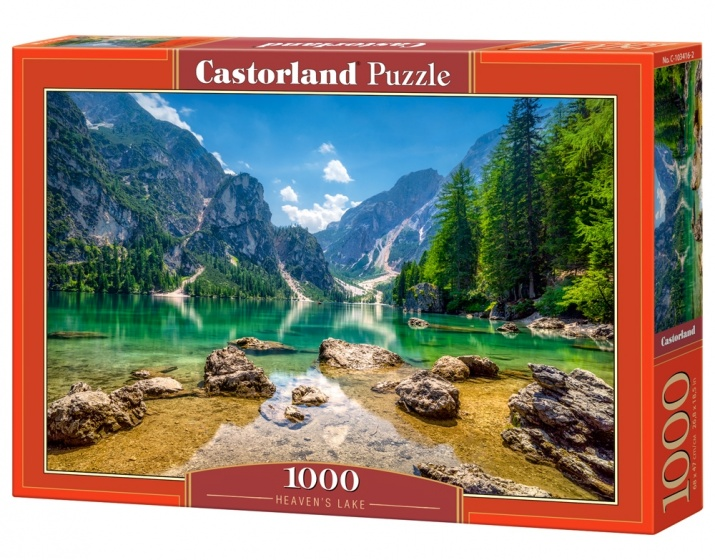 Castorland legpuzzel Heaven's Lake 1000 stukjes