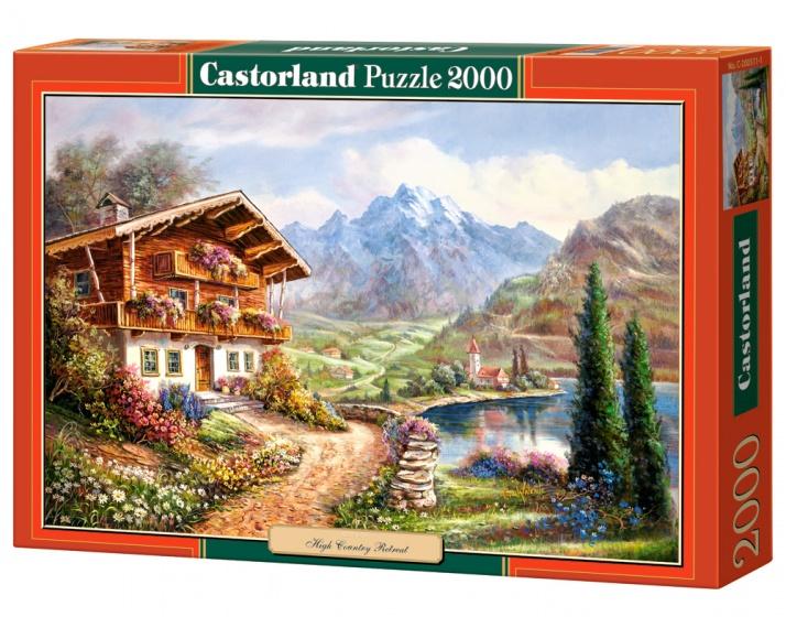 Castorland legpuzzel High Country Retreat 2000 stukjes