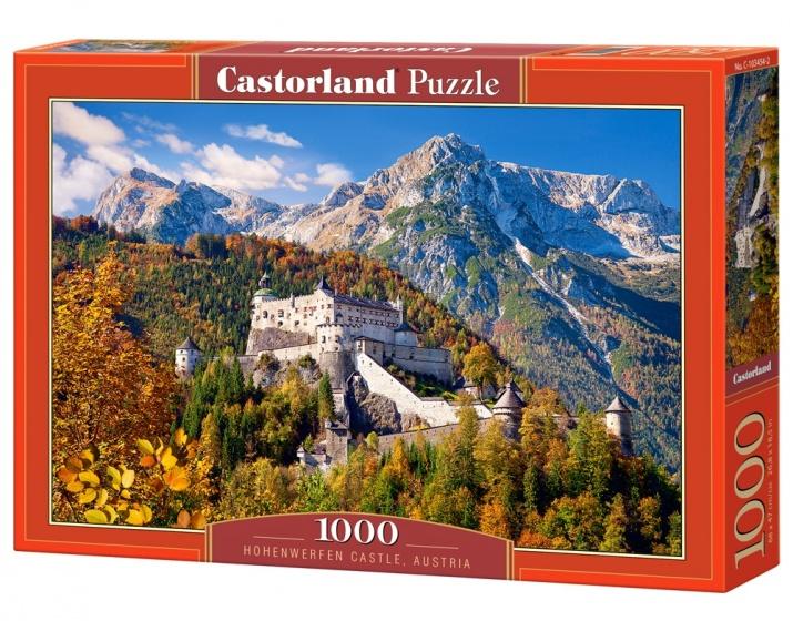 Castorland legpuzzel Hohenwerfen Caslte, Austria 1000 stukjes
