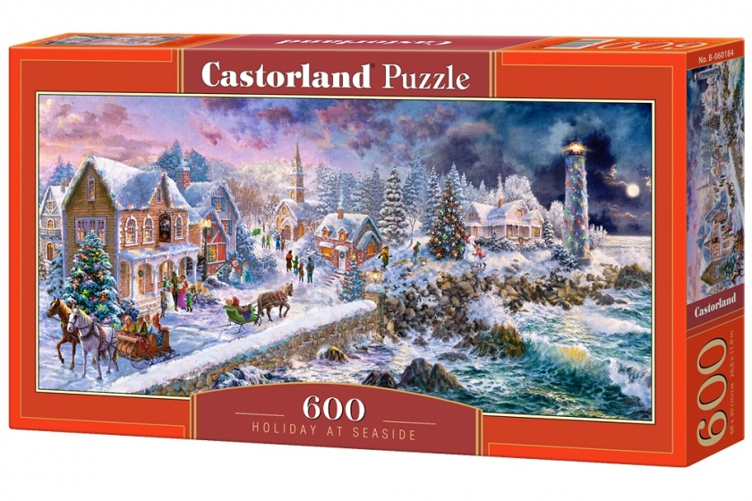 Castorland legpuzzel Holiday at Seaside 600 stukjes