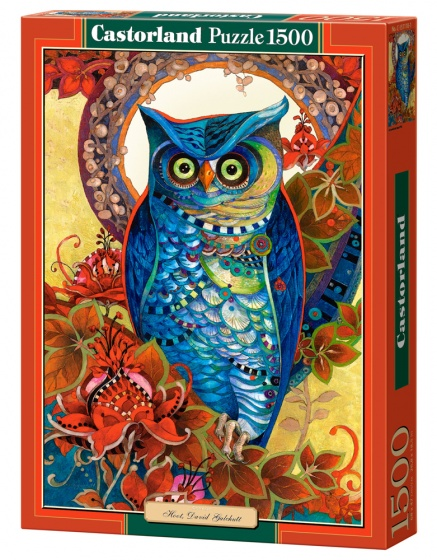 Castorland legpuzzel Hoot, David Galchutt 1500 stukjes