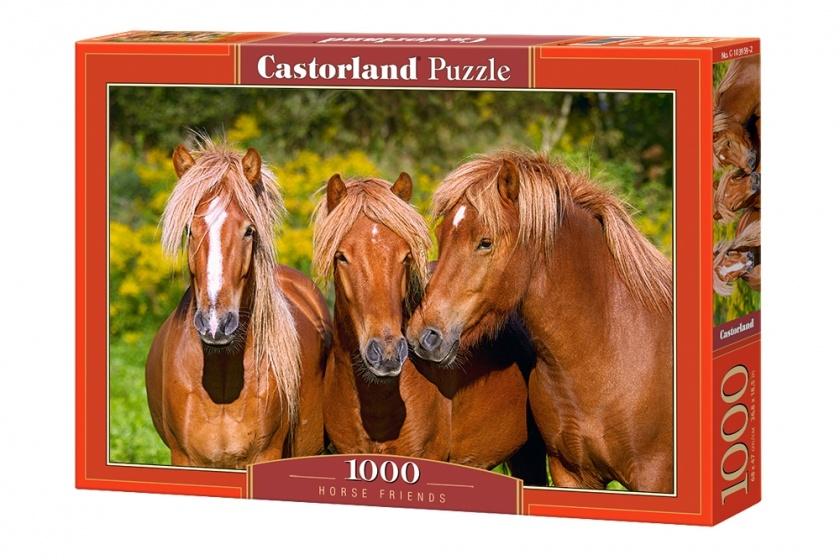 Castorland legpuzzel Horse Friends 1000 stukjes
