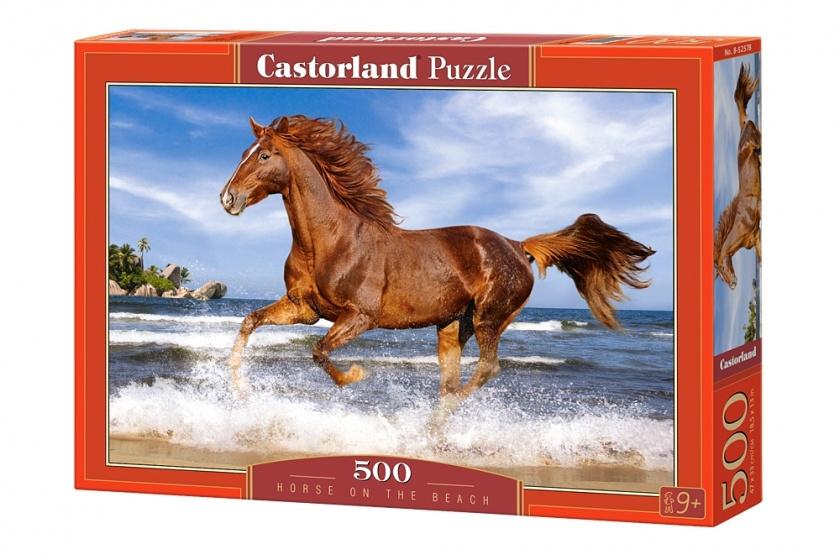Castorland legpuzzel Horse on the Beach 500 stukjes