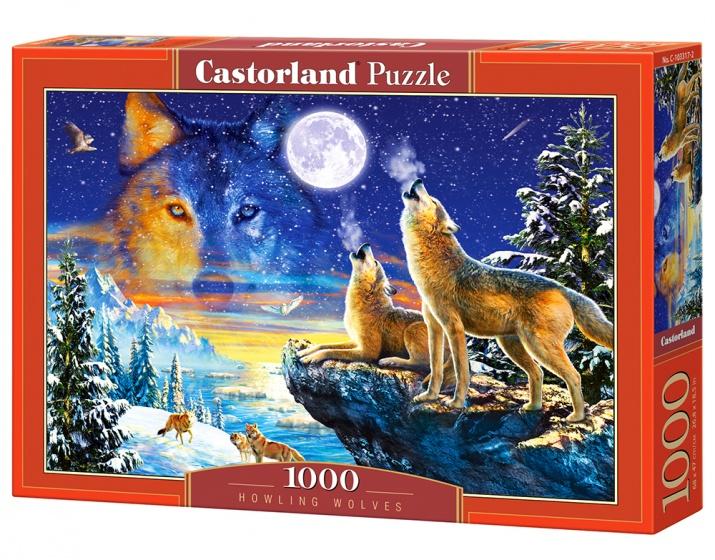Castorland legpuzzel Howling Wolves 1000 stukjes