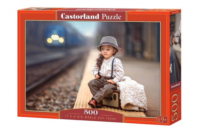 Castorland legpuzzel It's a big world out there 500 stukjes
