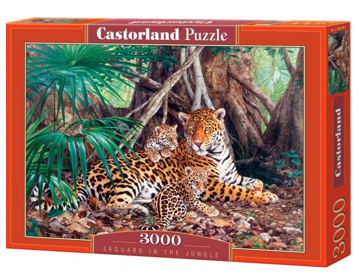 Castorland legpuzzel Jaguars in the Jungle 3000 stukjes