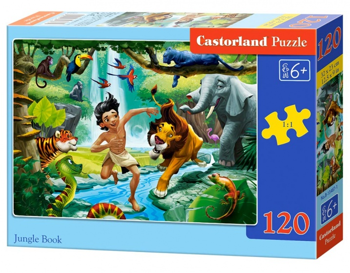 Castorland legpuzzel Jungle Book 120 stukjes
