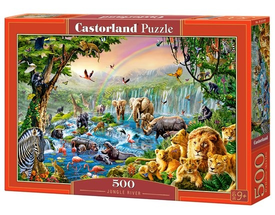 Castorland legpuzzel Jungle River 500 stukjes