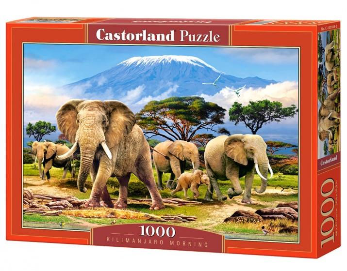 Castorland legpuzzel Kilimanjaro Morning 1000 stukjes