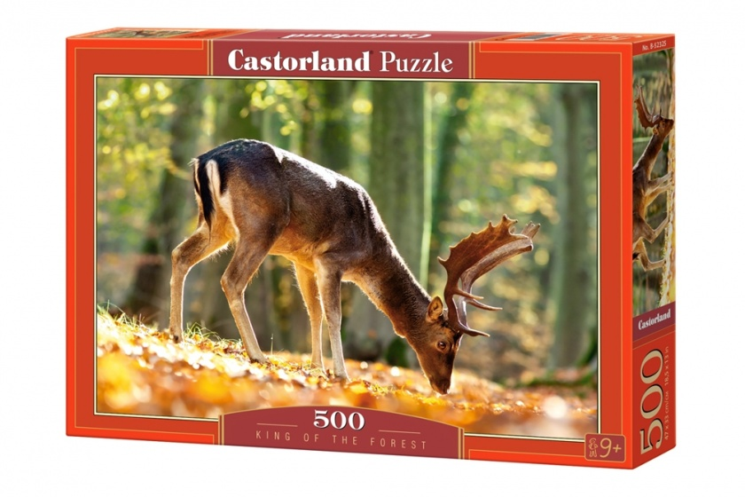 Castorland legpuzzel King of the Forest 500 stukjes