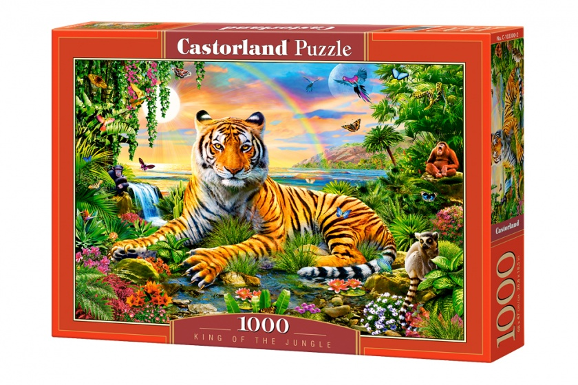 Castorland legpuzzel King of the Jungle 1000 stukjes