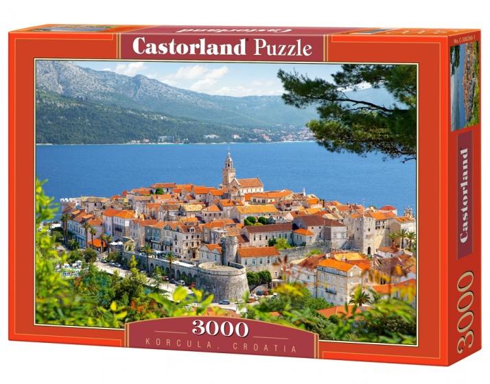 Castorland legpuzzel Korcula, Croatia 3000 stukjes