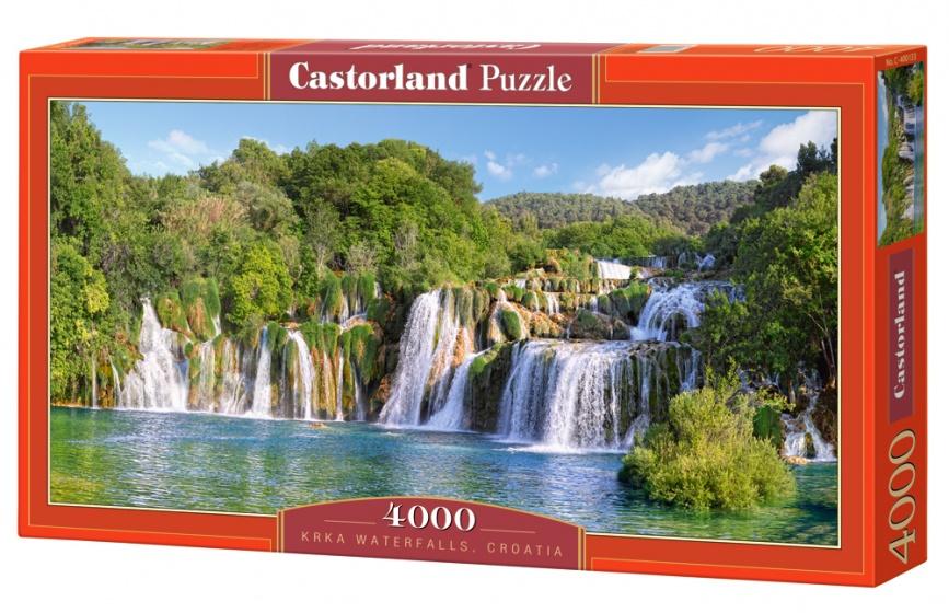 Castorland legpuzzel Krka Waterfalls, Croatia 4000 stukjes