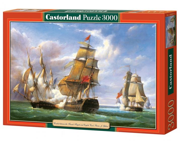 Castorland legpuzzel La Canonniere and The Tremendous 3000 stukjes