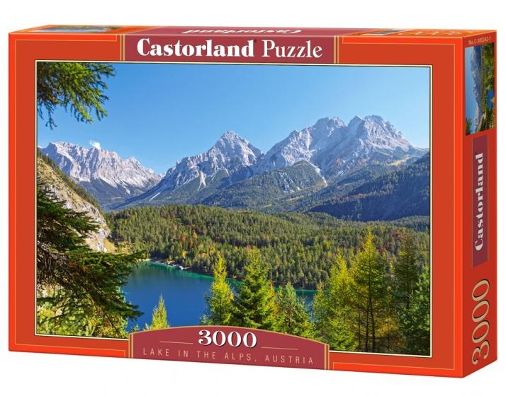 Castorland legpuzzel Lake in the Alps, Austria 3000 stukjes
