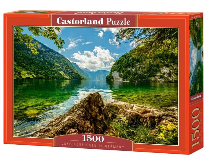 Castorland legpuzzel Lake K�nigsee in Germany 1500 stukjes
