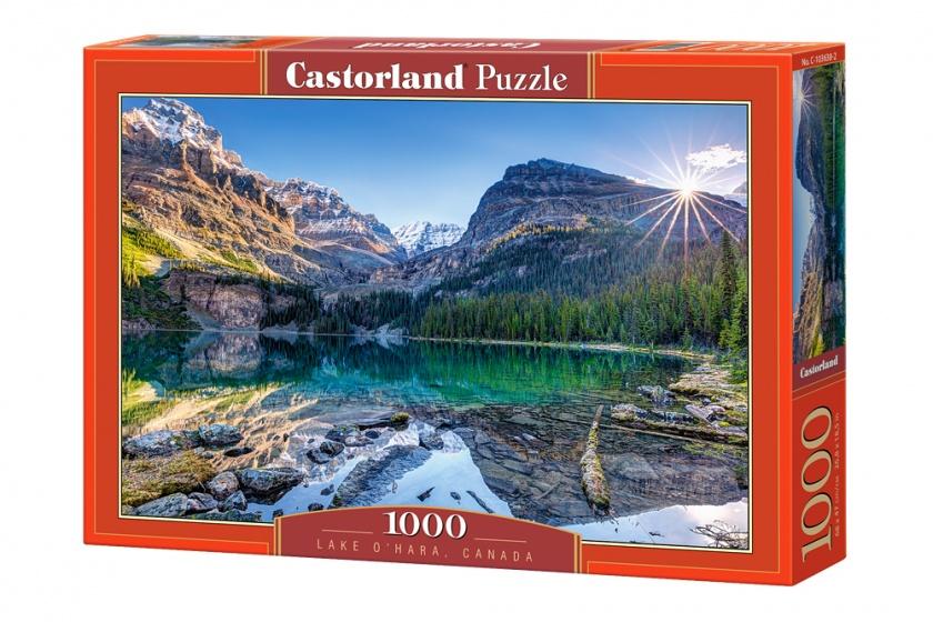 Castorland legpuzzel Lake O'Hara, Canada 1000 stukjes