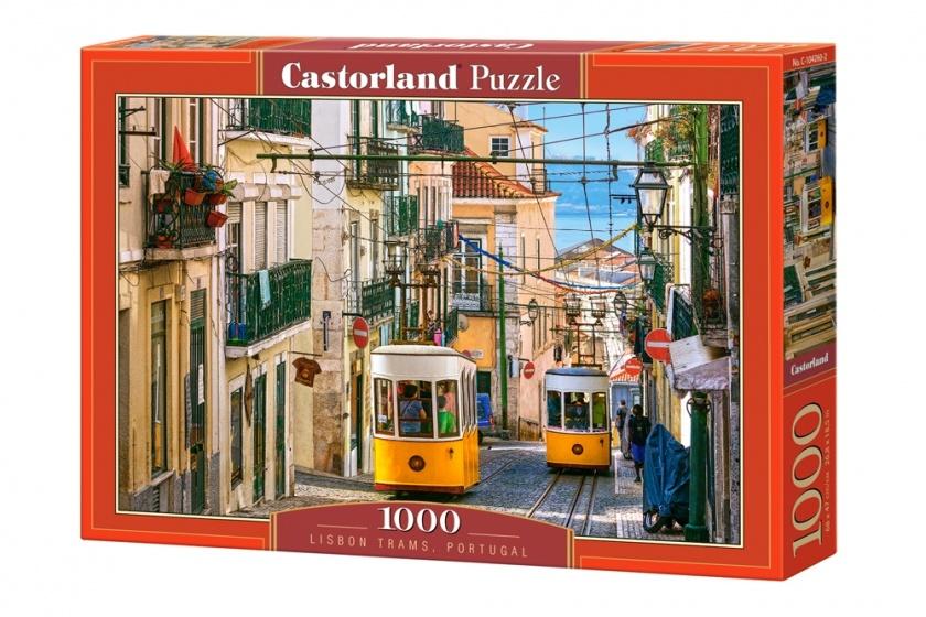 Castorland legpuzzel Lisbon Trams Portugal 1000 stukjes