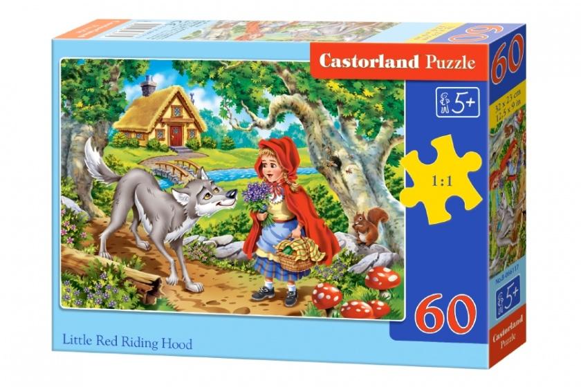 Castorland legpuzzel Little Red Riding Hood 60 stukjes