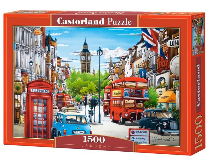 Castorland legpuzzel London 1500 stukjes