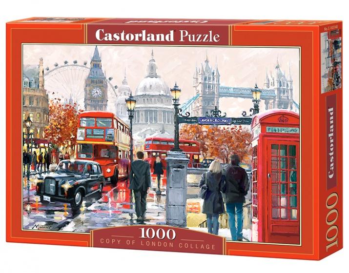 Castorland legpuzzel London Collage 1000 stukjes