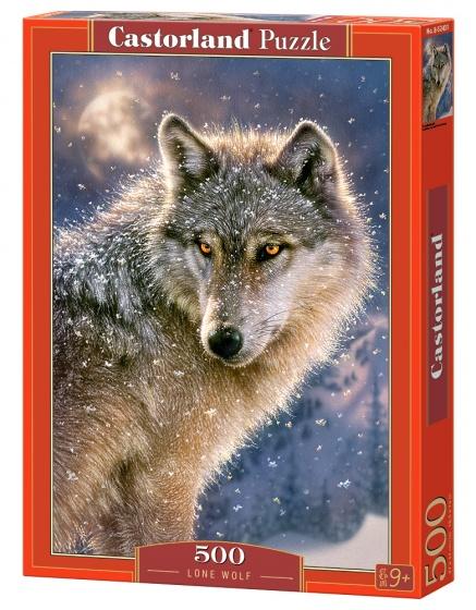 Castorland legpuzzel Lone wolf 500 stukjes