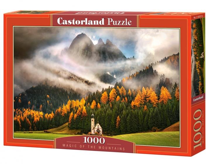 Castorland legpuzzel Magic of the Mountains 1000 stukjes