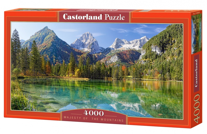 Castorland legpuzzel Majesty of the Mountains 4000 stukjes