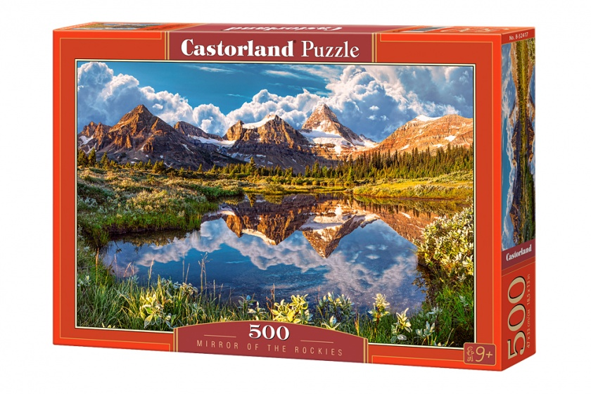 Castorland legpuzzel Mirror of the rockies 500 stukjes