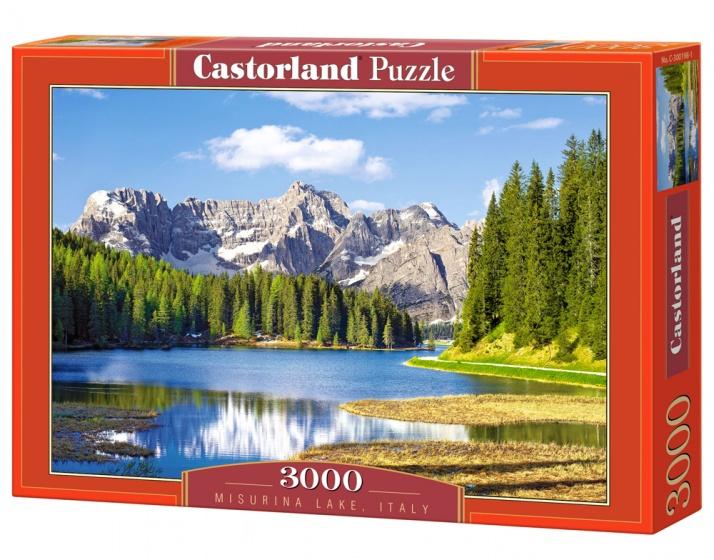 Castorland legpuzzel Misurina Lake, Italy 3000 stukjes