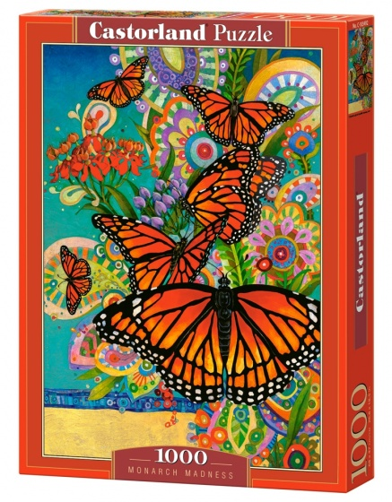 Castorland legpuzzel Monarch Madness 1000 stukjes