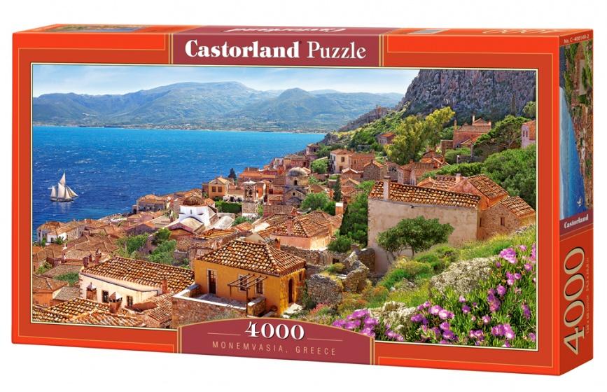 Castorland legpuzzel Monemvasia, Greece 4000 stukjes