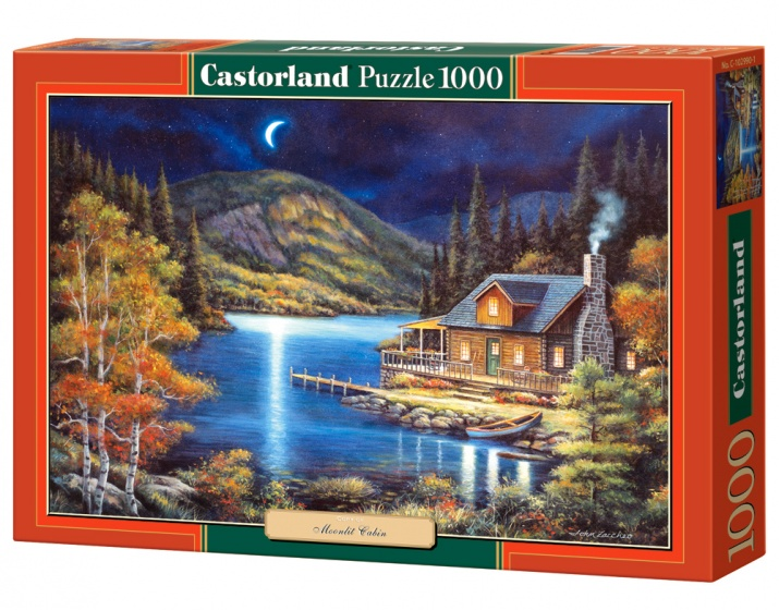 Castorland legpuzzel Moonlit Cabin 1000 stukjes